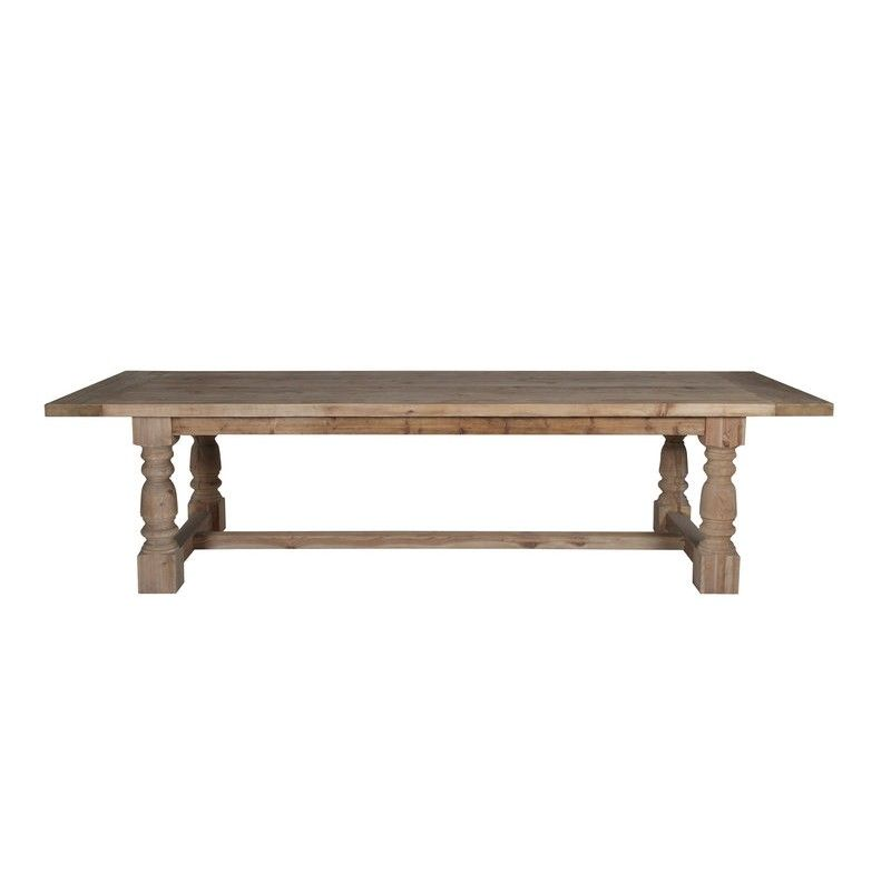 Country Dining Table With Bench: French Rustic Country Dining Table
