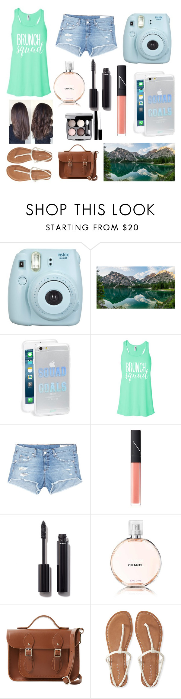 """Untitled #40"" by dierksandbilly ❤ liked on Polyvore featuring Alpine, Sonix, rag & bone/JEAN, NARS Cosmetics, Chanel, The Cambridge Satchel Company and Aéropostale"