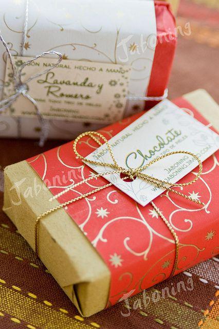 Jabones decorados para regalo de Navidad | Flickr - Photo Sharing!
