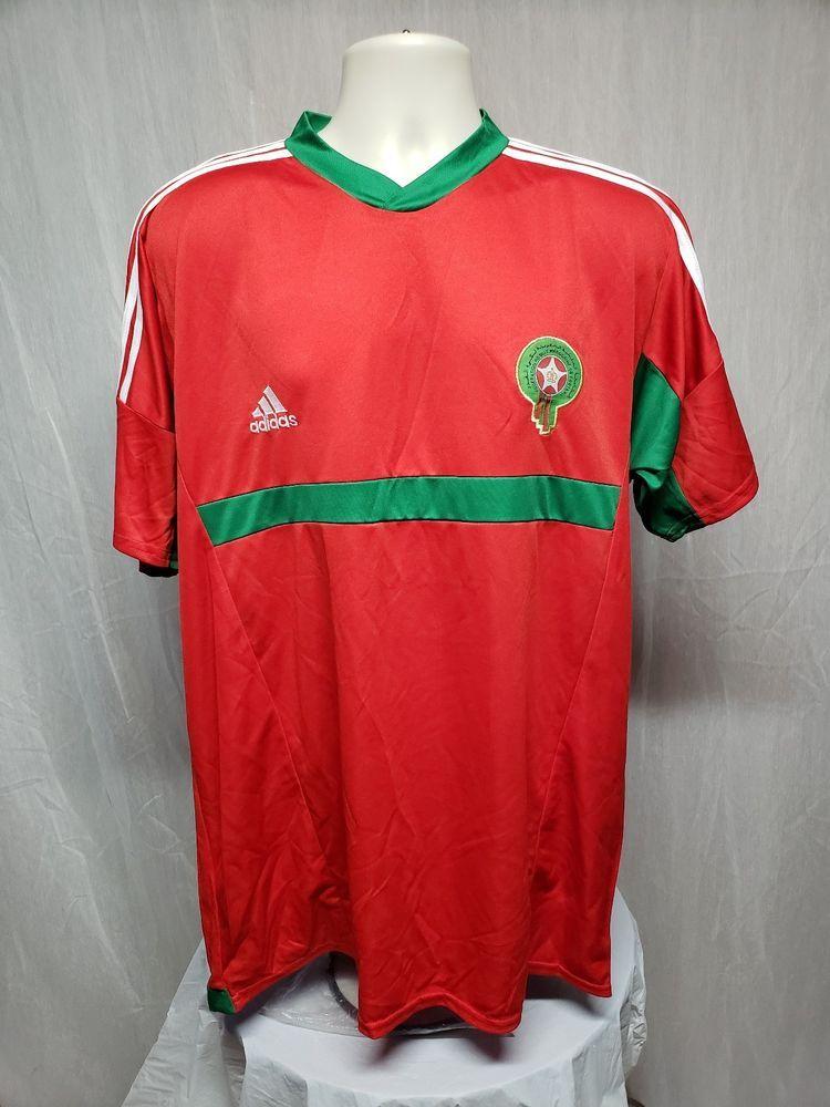 tee shirt maroc adidas