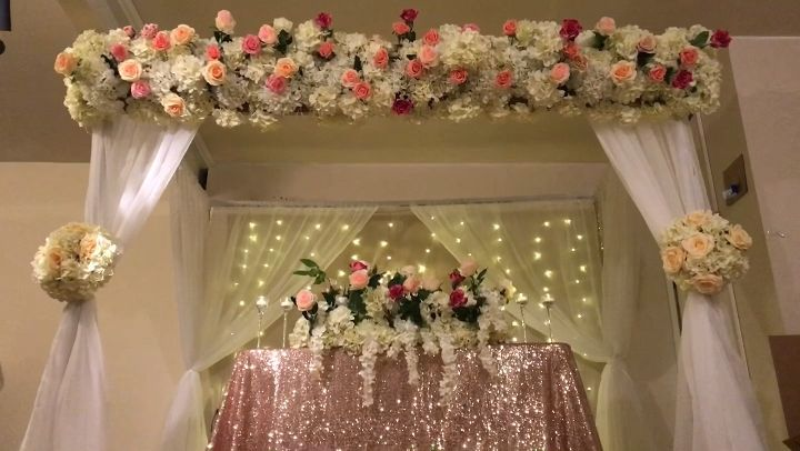 Pin By Noozay Decor On Canopy Decor In 2019 Wedding