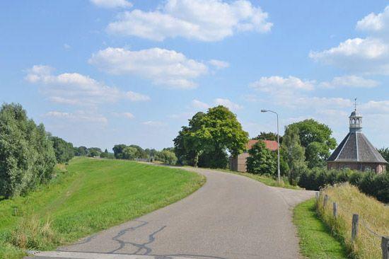 Boven Leeuwen, Gemeente West Maas en Waal | Holland, Landschappen, Maas