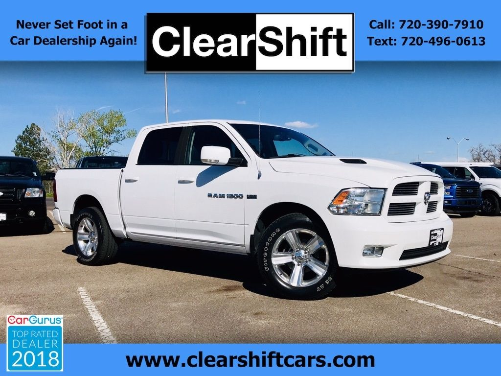 used 2011 ram 1500 sport for sale in littleton co 80120 clearshift cars cars for sale used trucks car dealership pinterest