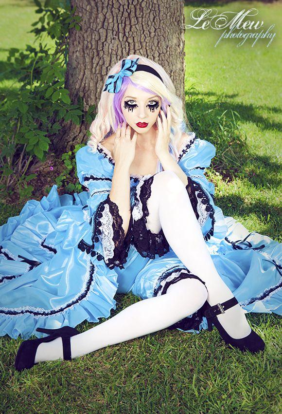 Gothic Alice In Wonderland Makeup Ideas - Mugeek Vidalondon