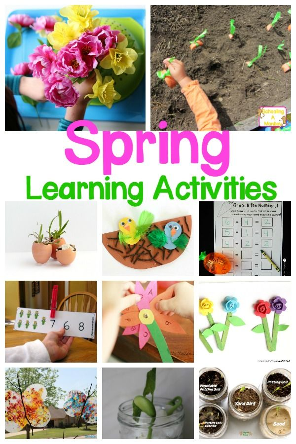 Spring Theme Ideas For Preschool And Kindergarten Spring Crafts