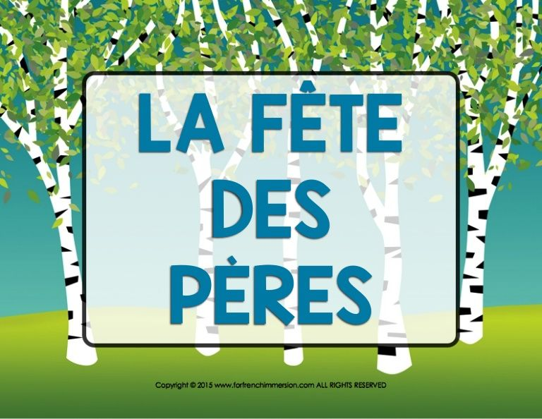 This is an introductory presentationin French of the Father's Day celebration. Read along with your French students and have them later search the internet to …