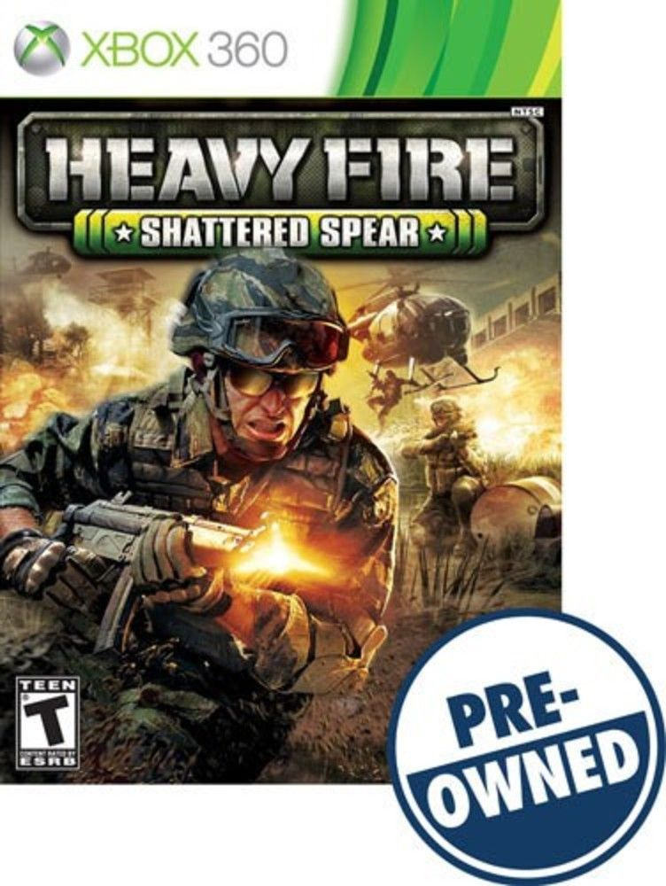 Heavy Fire Shattered Spear Pre Owned Xbox 360 Shatter