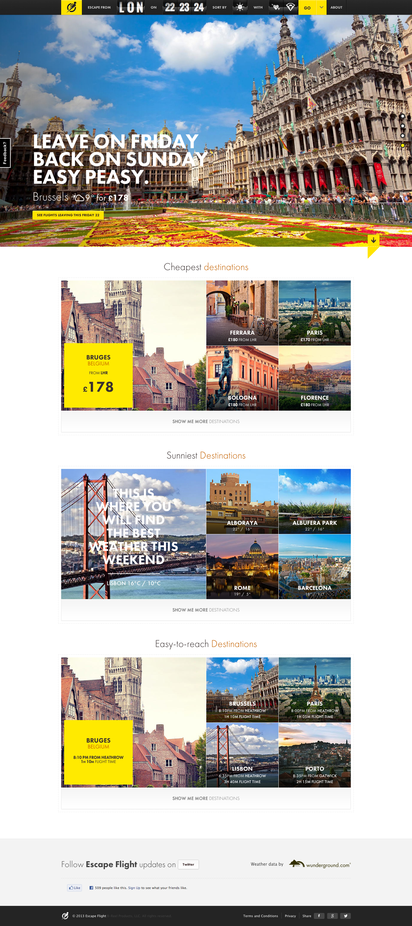 22 inspiring travel website designs you 39 ll love - Home design app used on love it or list it ...