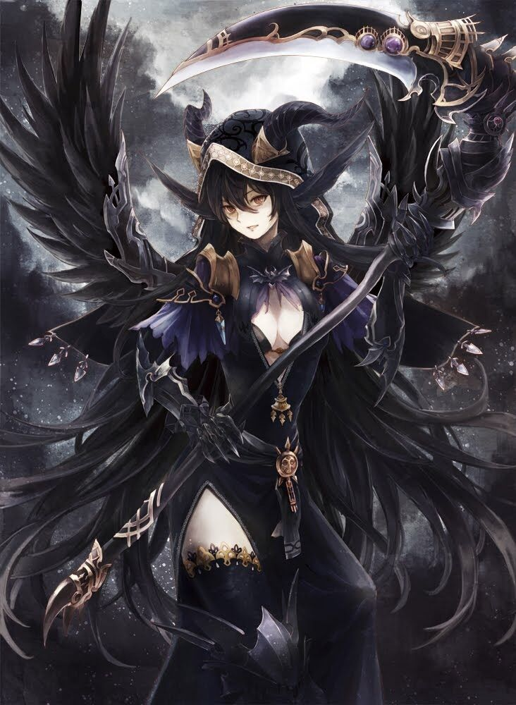 Yukamononoke Astema The Fallen Angel Of Desolation Anime Warrior Girl Anime Art Girl Anime Warrior