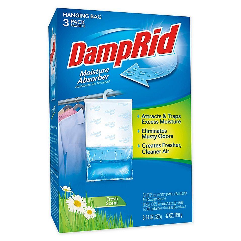 Damprid Hanging Moisture Absorber In Fresh Scent Set Of 3 Blue