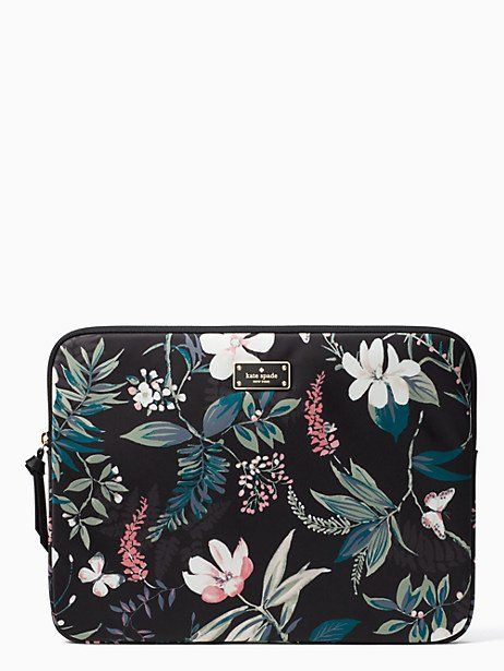 official photos f4dd2 9ce77 Kate Spade Wilson Road Botanical Laptop Sleeve, Botanical | Products ...