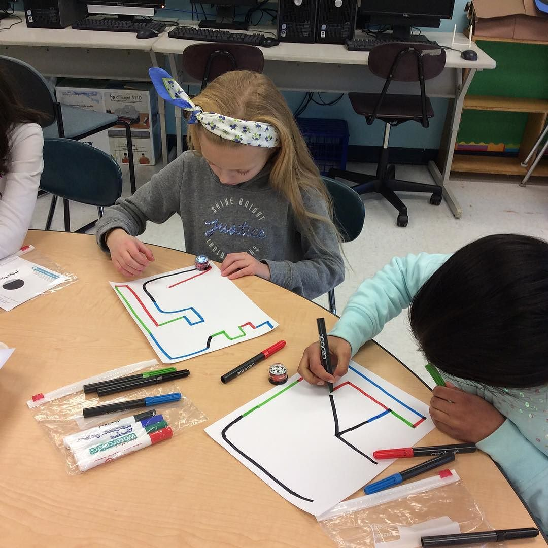 What Is Stem Lab In School: Fifth Graders Are Introduced To Ozobots! #Ozobots #coding