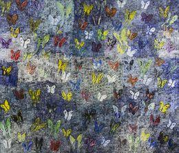 Hunt Slonem, 'Painted Lady 3,' 2015, Madison Gallery