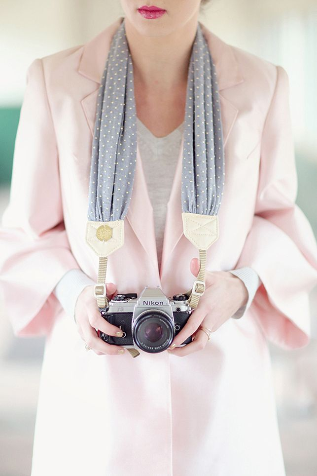 Bloom Theory Straps — Lunar Melodies - New scarf DSLR camera strap - gorgeous!