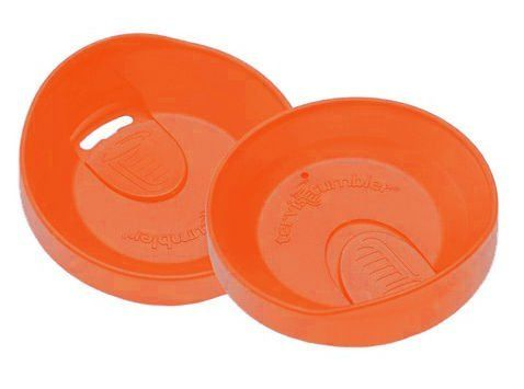 Tervis 24 Oz Orange Travel Lid By 3 99 Dishwasher Safe Microwave