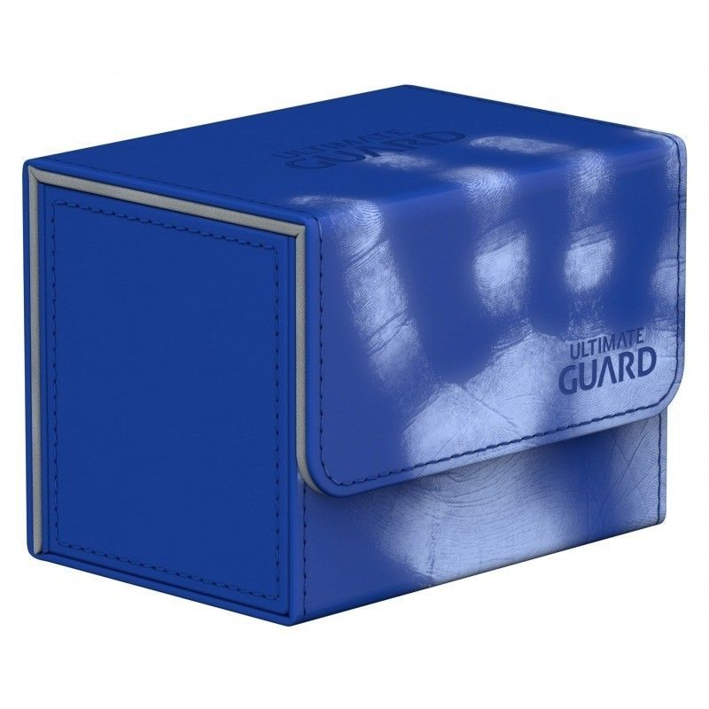Deck Box NEW Ultimate Guard Flipside Sidewinder Xenoskin Blue 80