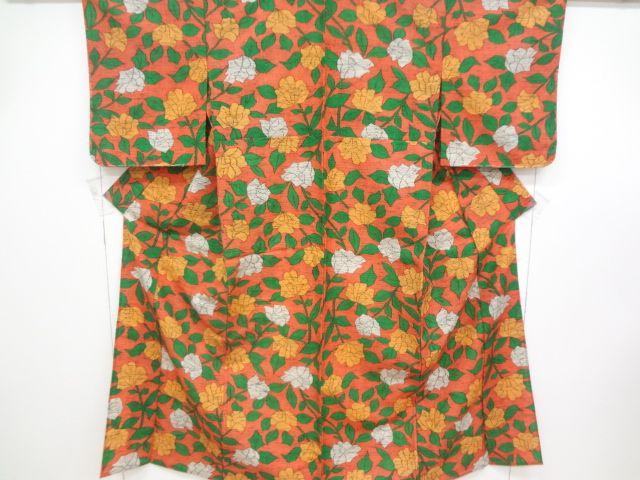 Tsumugi Kimono Combined weaving