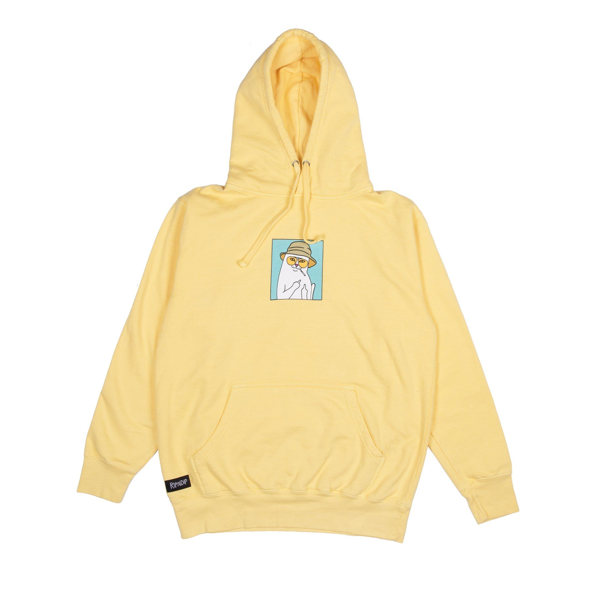 a7e2c4affcca2 Nermal S. Thompson Hoodie (Yellow) | clothes | Yellow hoodie ...