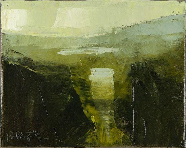 Rich Bowman Highlandtastic Study 1 Abstract Art Landscape Abstract Landscape Painting Abstract Landscape