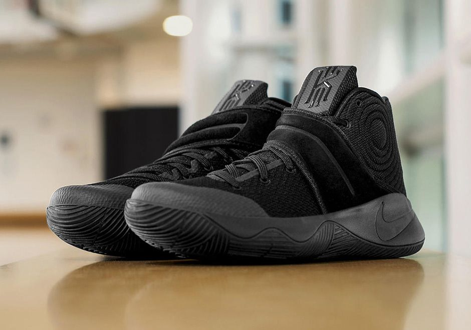 Kyrie 2 Triple Black Release Info | SneakerNews.com