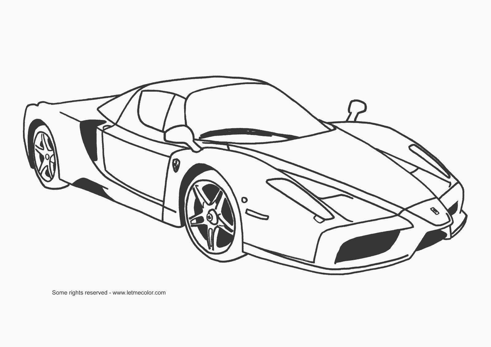 Free Coloring Pages Sports Cars. Explore Ferrari Car  Cool Cars and more Free Coloring Hot Wheels Pages Pinterest