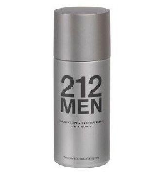 212 Deodorant Spray By Carolina Herrera For Men Deodorant