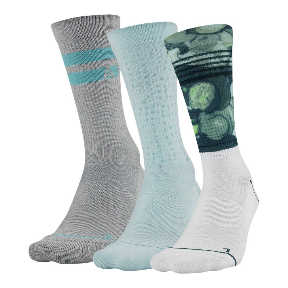 Select SZ//Color. 3 Pack Under Armour Socks Boys Phenom Curry Crew