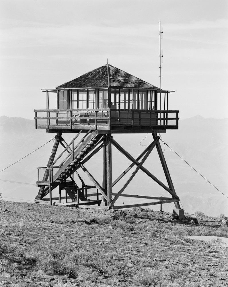 Perhaps the most iconic of american fire lookouts the l 4 for Fire lookout tower plans