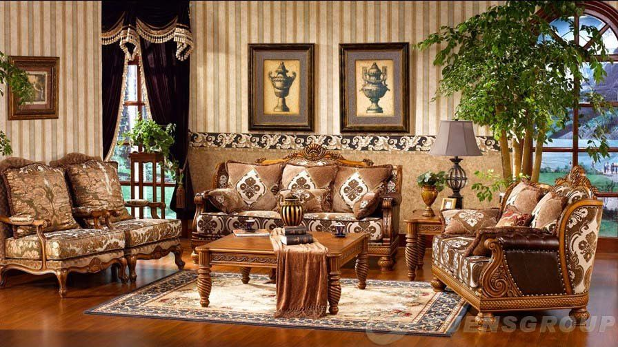 American Home Decor Stores: European And American Style Rural Hand Carving Solid Wood
