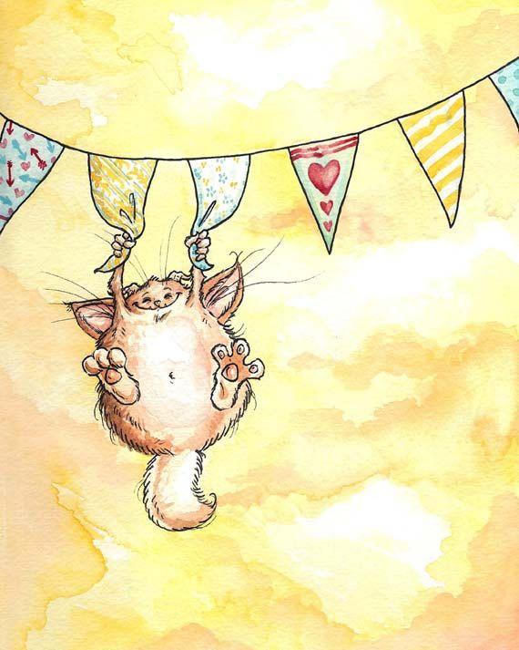 Monster print - Georgia Dunn; el divertimos tro, le encantan las fiestas de cumpleaños,bueno todas las fiestas,así que si se mueven las banderas,u oyes ruido tos es el divirtiéndose, se alimenta con pastel,gelatina,dulces y canciones,no esta quieto y siempre esta viajando.