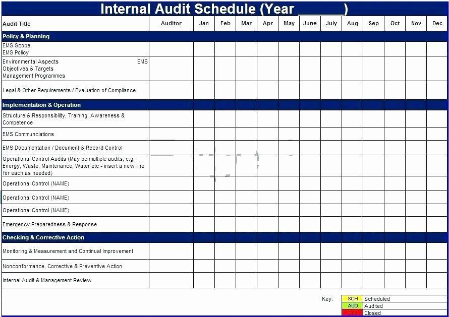 Audit Report Template Excel Fresh Internal Control Template Internal Control Audit Report In 2021 Internal Audit Schedule Template Agenda Template