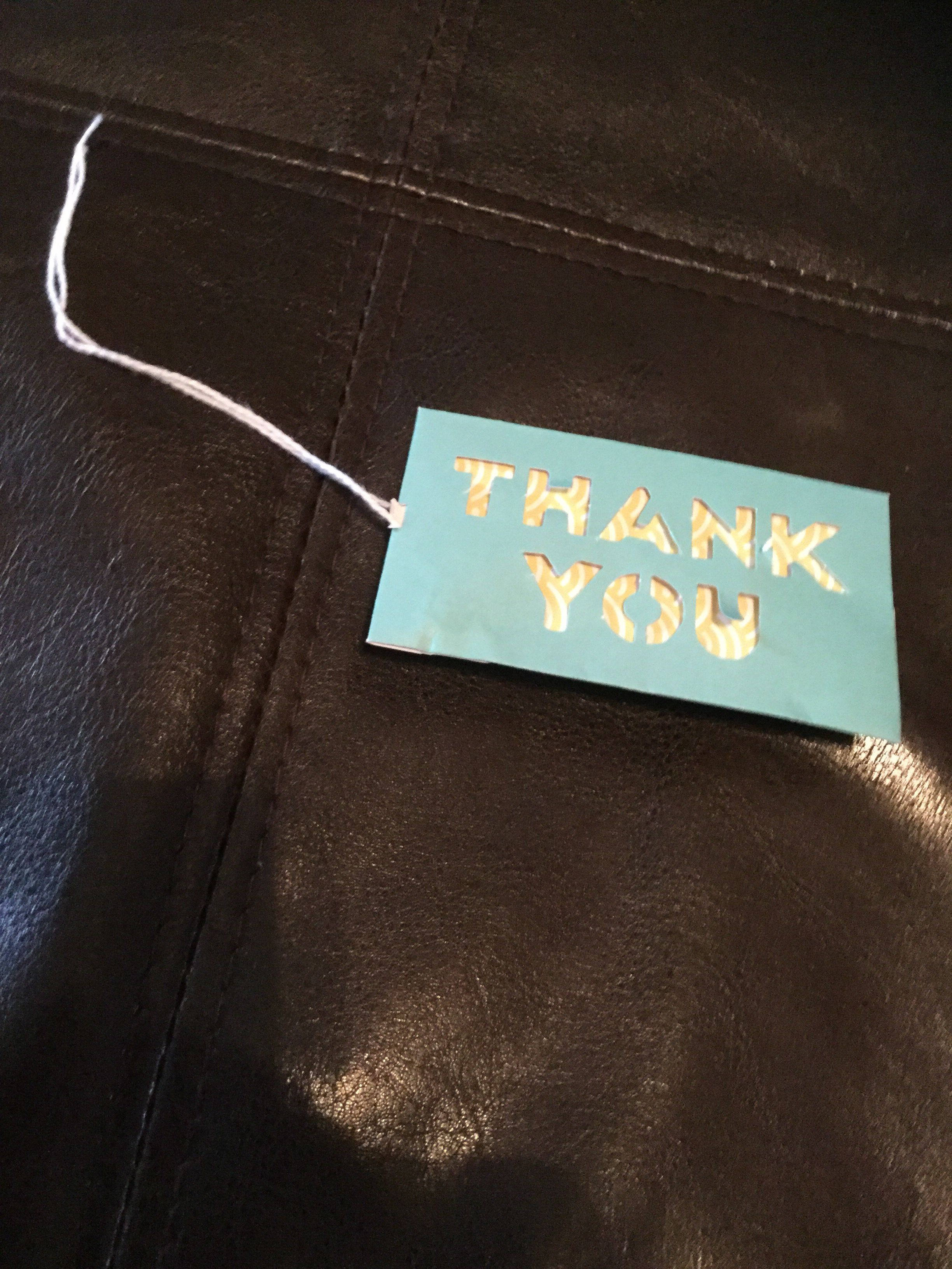 A perfect way to say thank you with a gift gifts gift