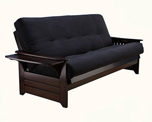 queen futon frame and mattress hardwood suede suede black peramore queen futon frame espresso mattress
