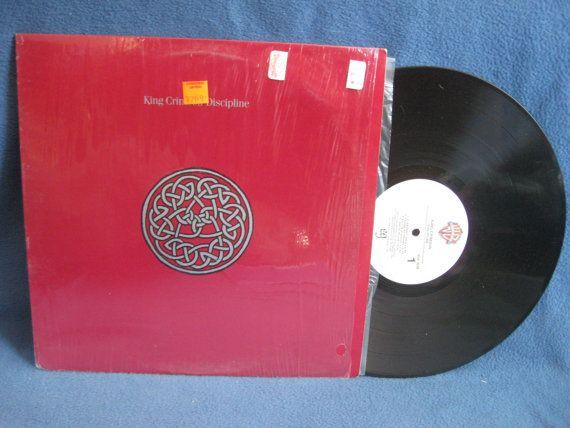 Rare Vintage King Crimson Discipline Vinyl Lp By Sweetleafvinyl Relacionamento Amoroso Relacionamento Expressoes Faciais