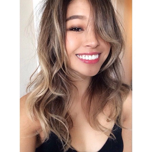 My Client Rrayyme Text Me A Selfie Today Of Her Hair Color I Gave Her I Love That Any Ethnicity Can Have A Cert Hair Color Asian Blonde Asian Hair Asian