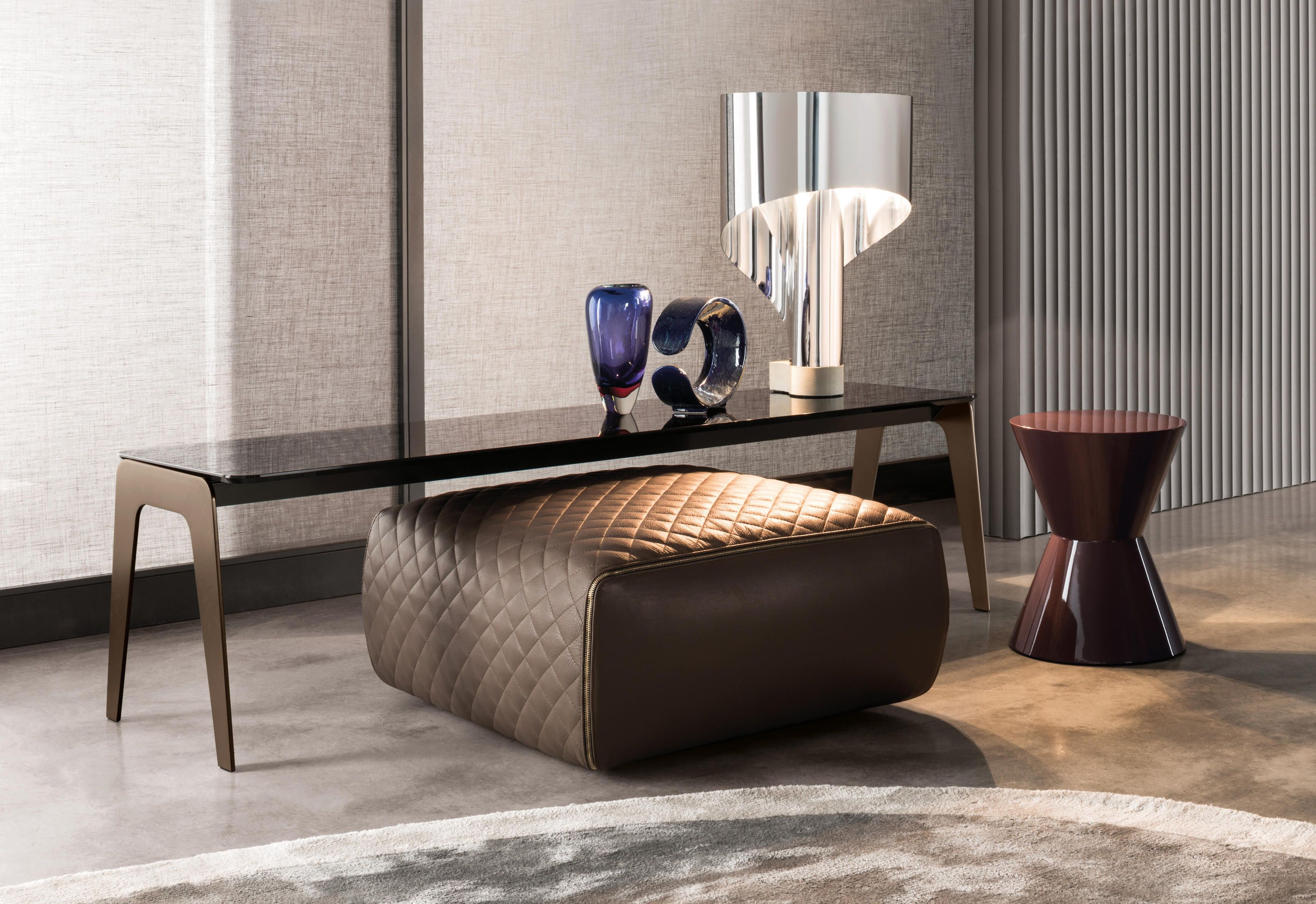 A Vast Collection Of Versatile Occasional Tables Kirk Comes In An Array Of Finishes Shapes A Minotti Furniture Italian Furniture Design Furniture Arrangement [ 2061 x 3000 Pixel ]