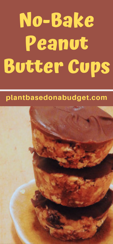 No Bake Peanut Butter Cups Recipe Baking Peanut Butter Cups Food