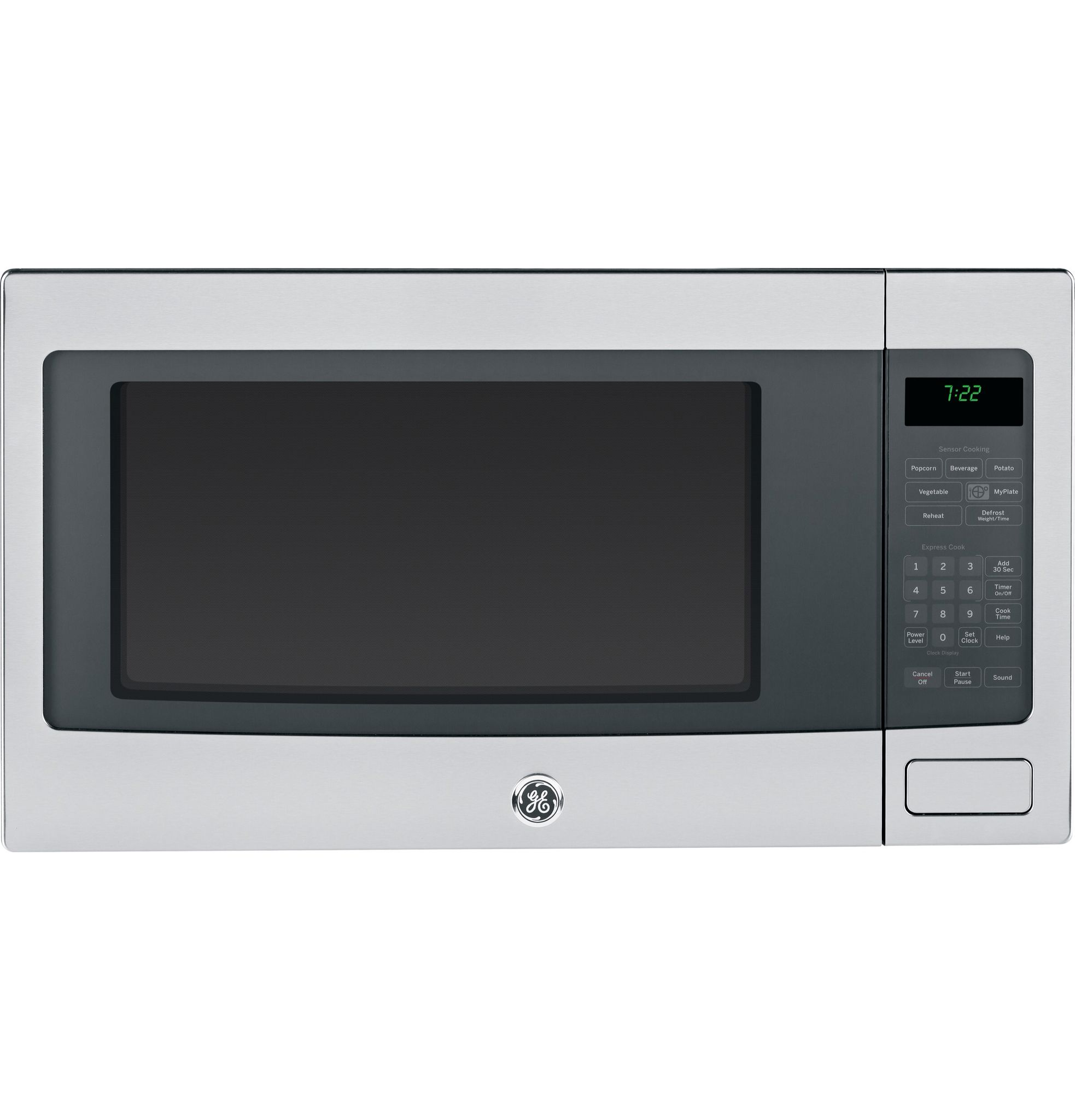 Ge Profile Microwave Built In Peb7226sf With Jx7230sf Trim Kit 30 Inch Countertop Microwave Stainless Steel Countertops Stainless Steel Microwave