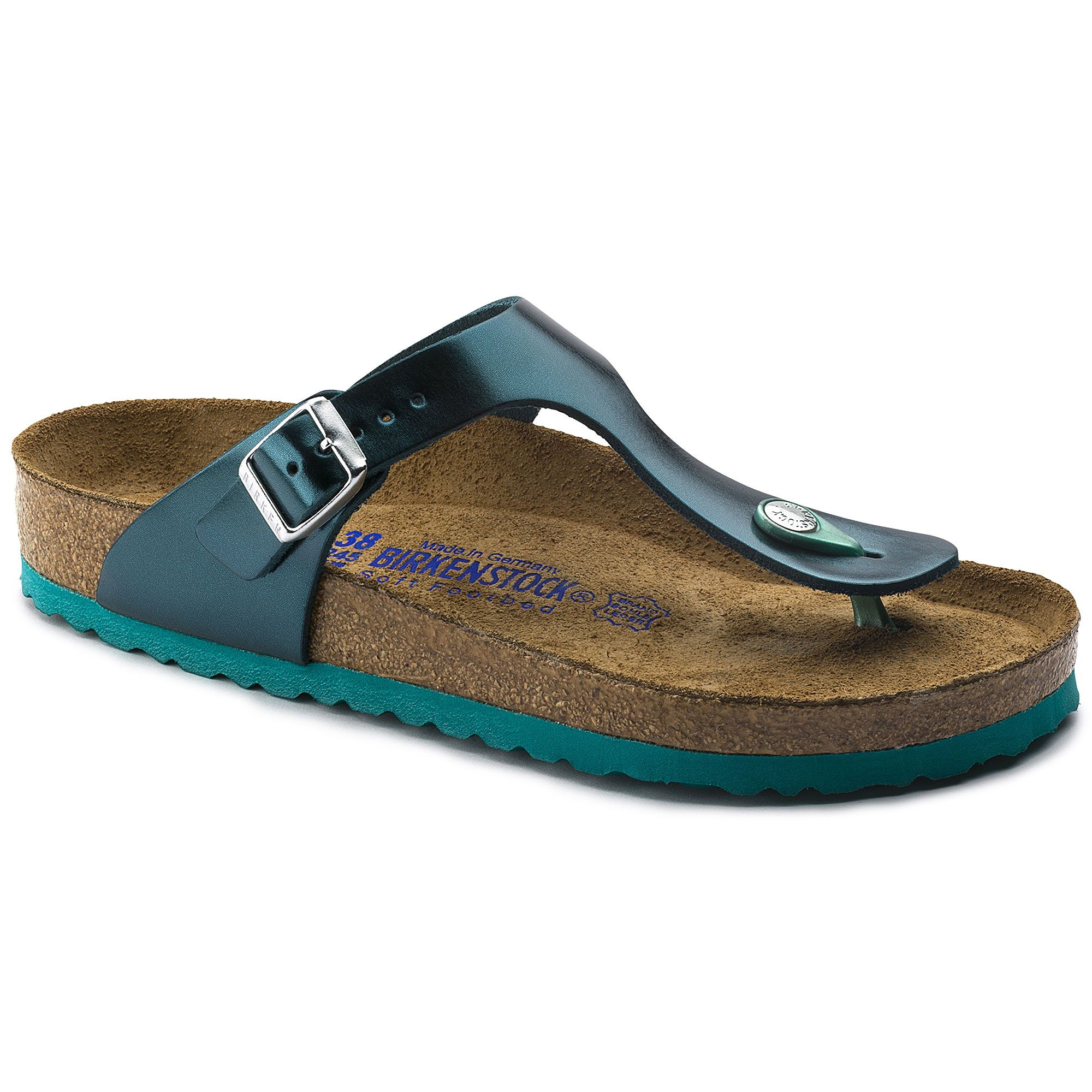 Gizeh Natural Leather | Birkenstock, Natural leather, Leather