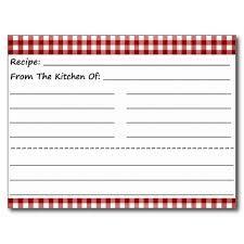 Resultado de imagen para free printable recipe cards