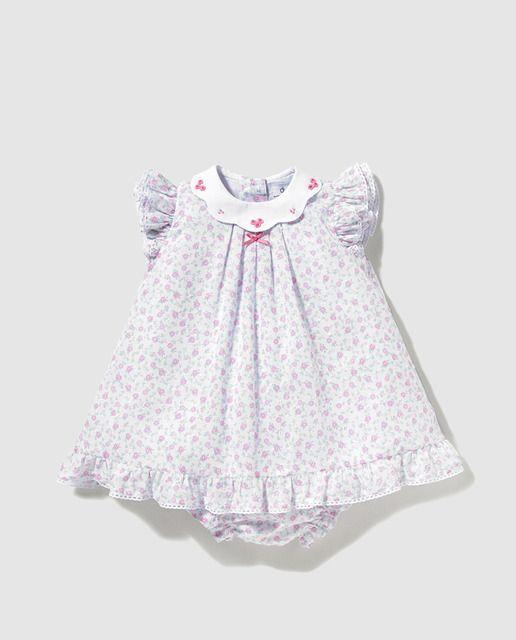 Vestido de bebé niña Dulces con estampado de flores   vestidos de ...