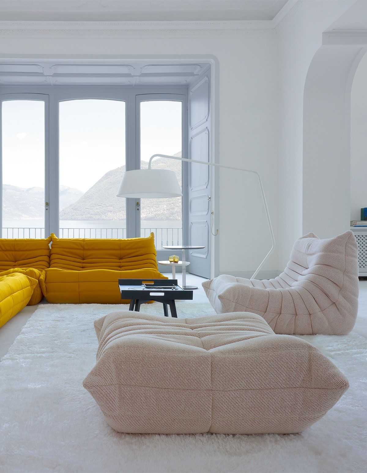 Togo Collection Designed By Michel Ducaroy For Ligne Roset