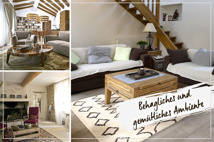 Landhausstil Einrichten   Wohnzimmer Gemütlich Gestalten #benuta #teppich # Landhaus #interior #rug
