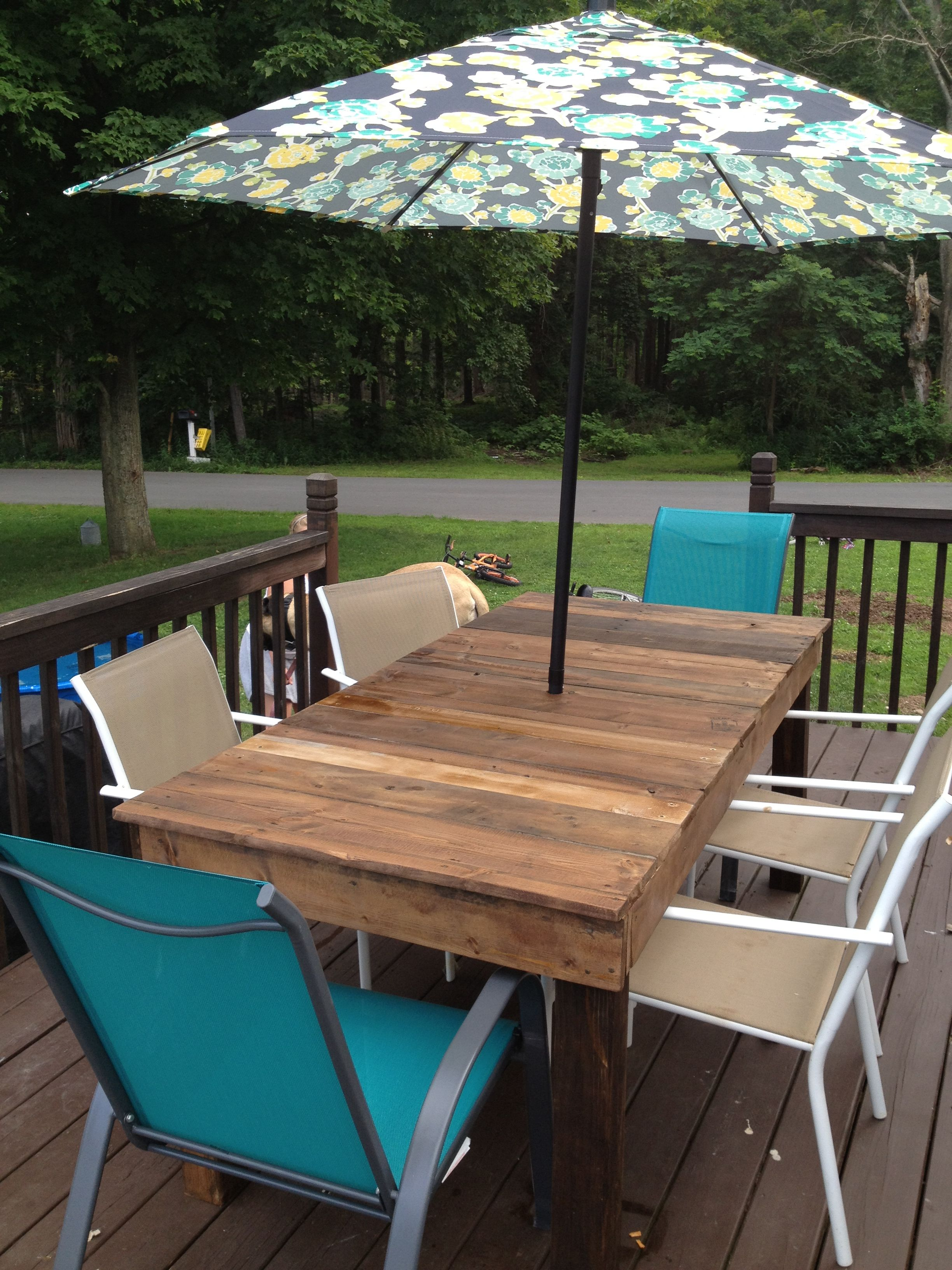 Picnic Table Made From Recycled Wood Clearance Umbrella And Chairs