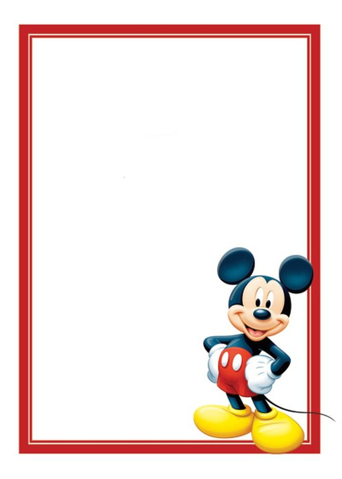 Free Mickey Mouse Invitations Template Baby Shower Mickey Mouse