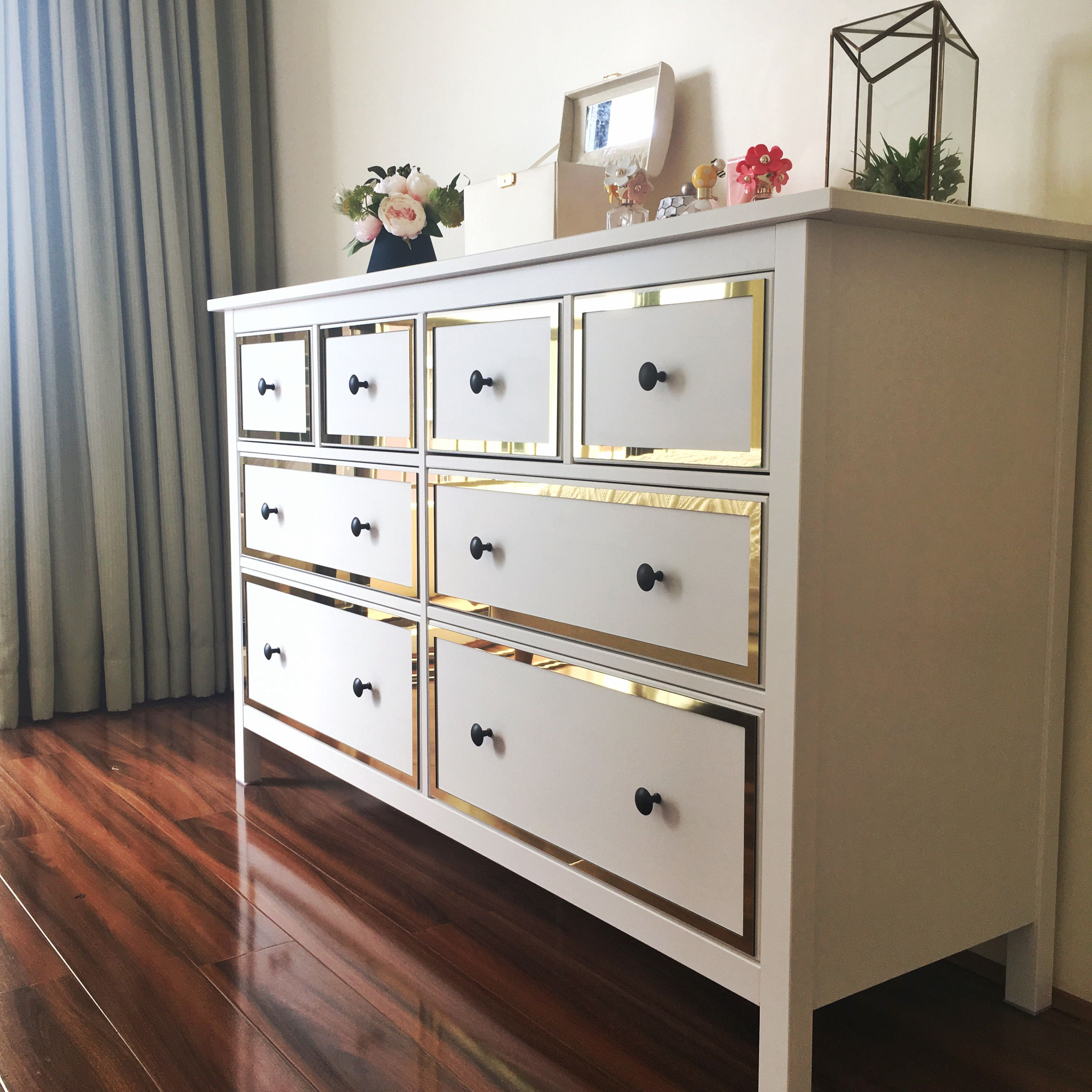 Best Styl Panel Kit 1123 To Suit Ikea Hemnes 8 Drawer Dresser 400 x 300