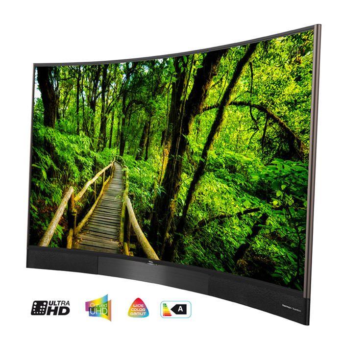 T l viseur led incurv 164 cm tcl u65s8806ds tv pas cher - Televiseur prix discount ...