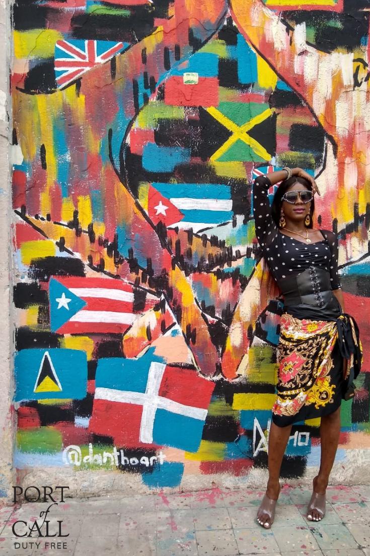Jamaica's Art District. Kingston Artwalk Art district