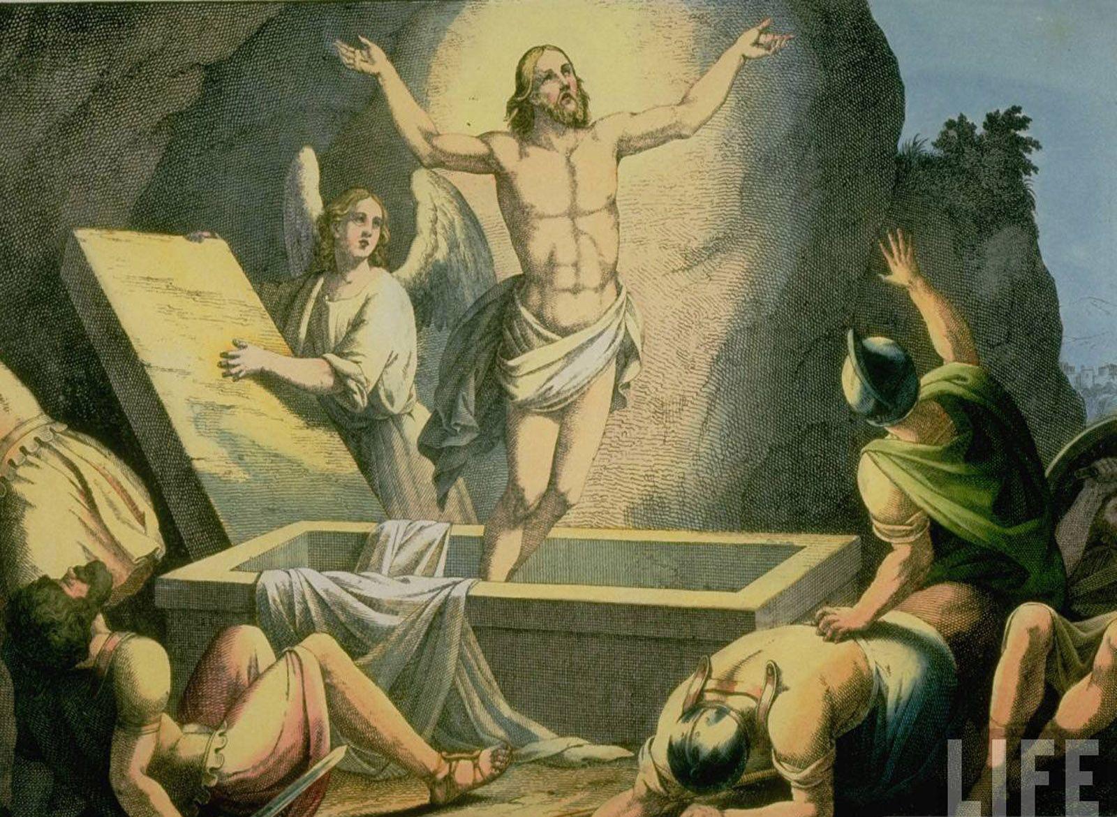 Resurrection Of Jesus Picture HD Wallpaper