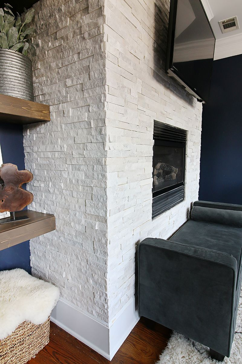 Tiling a stacked stone fireplace surround stone fireplace surround